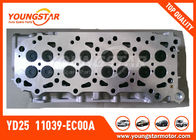 ประเทศจีน Complete Cylinder Head  For NISSAN Navara YD25  4 Port In Take Common Rail Turbo Diesel  11039 - EC00A บริษัท