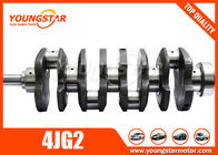 ประเทศจีน ISUZU 4JG2 8970231821 Forged Steel Crankshaft 4 Cylinder Crankshaft โรงงาน